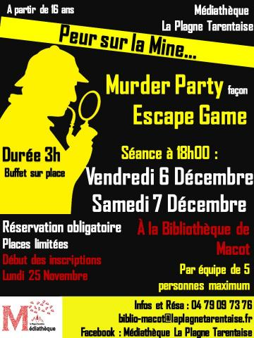 Murder Party façon Escape Game